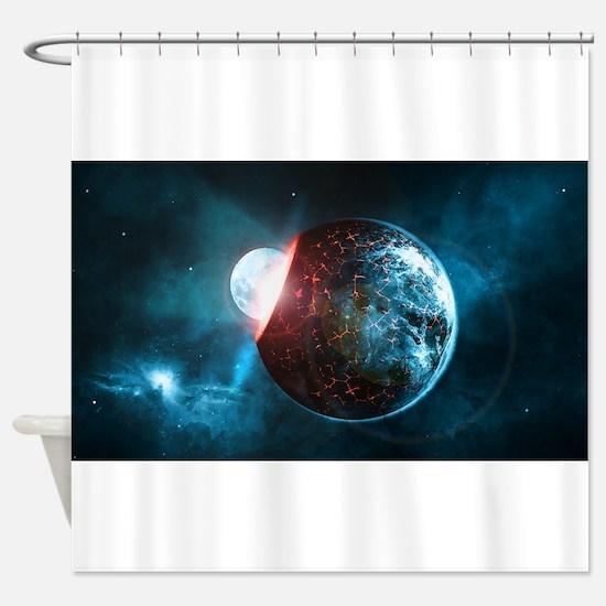 Unique Illusion Shower Curtain