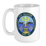 USS Bolster (ARS 38) Large Mug