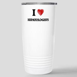 I love Hepatologists (H Stainless Steel Travel Mug