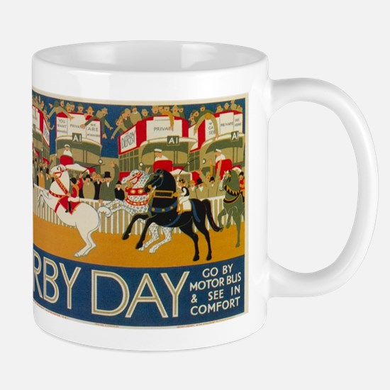 Vintage poster - Derby Day Mugs