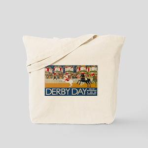 Vintage poster - Derby Day Tote Bag