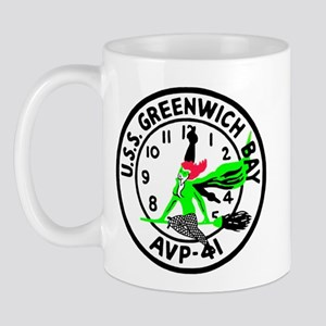 USS Greenwich Bay (AVP 41) Mug