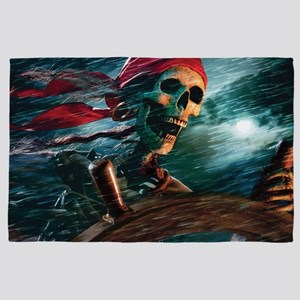 Undead Pirate 4' x 6' Rug
