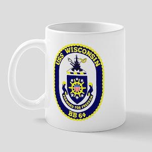 USS Wisconsin (BB 64) Mug