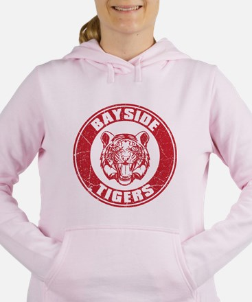 Bayside Tigers Retro Circle (Light) Women's Hooded