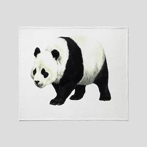 Giant Panda Lc Throw Blanket
