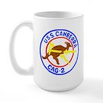 USS Canberra (CAG 2) Large Mug
