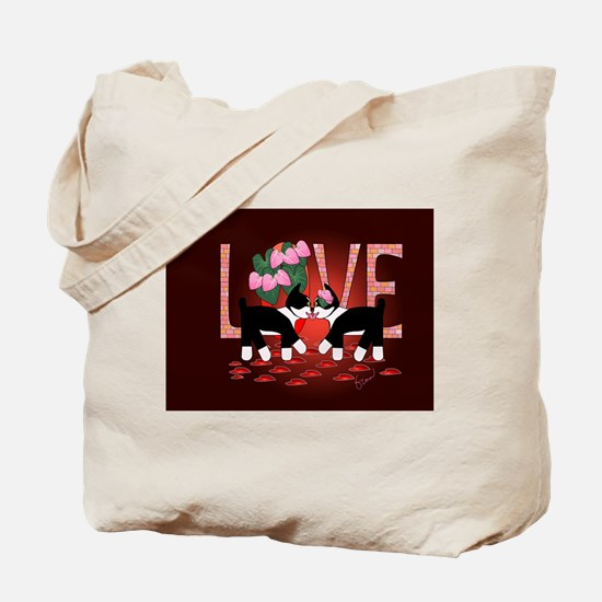 Kissing Bliss Tote Bag