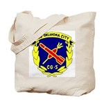 USS Oklahoma City (CG 5) Tote Bag