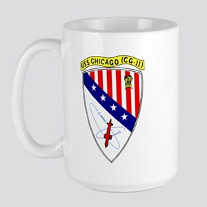 USS Chicago (CG 11) Large Mug