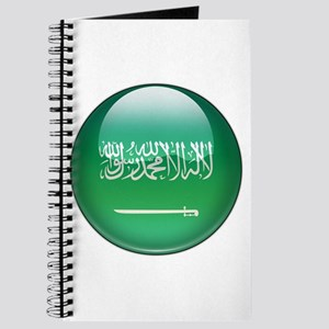 Saudi Arabia Flag Jewel Journal