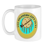 USS Oklahoma City (CL 91) Mug
