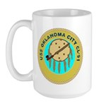 USS Oklahoma City (CL 91) Large Mug