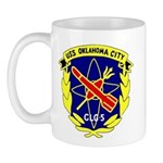 USS Oklahoma City (CLG 5) Mug