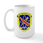 USS Oklahoma City (CLG 5) Large Mug