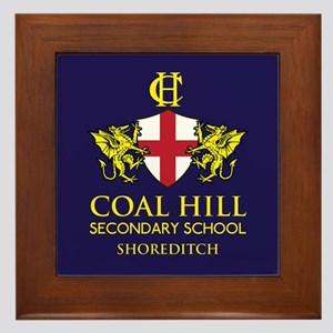 Coal Hill Secondary School Framed Tile