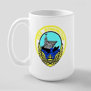 USS Bennington (CV 20) Large Mug
