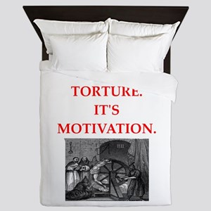 motivation Queen Duvet