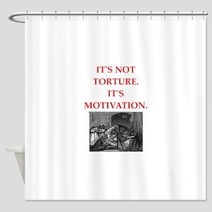 motivation Shower Curtain