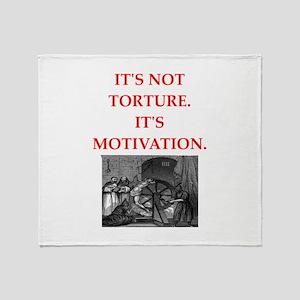 motivation Throw Blanket