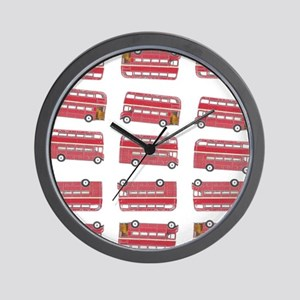 Anglophile Vintage Bus Wall Clock