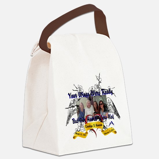 In Memory Of Canvas Lunch Bag