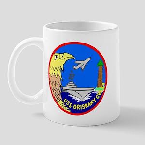 USS Oriskany (CVA 34) Mug