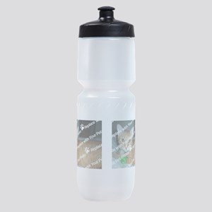 CUSTOMIZE Add 2 Photos Sports Bottle
