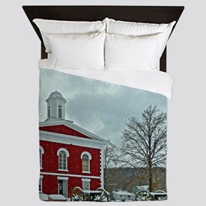 Iron County Courthouse Queen Duvet