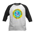 USS Constellation (CVA 64) Kids Baseball Jersey