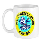 USS Constellation (CVA 64) Mug