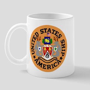 USS America (CVA 66) Mug