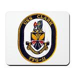 USS CLARK Mousepad