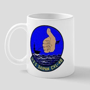 USS Saipan (CVL 48) Mug