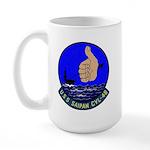 USS Saipan (CVL 48) Large Mug