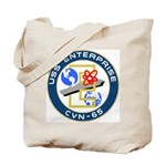 USS Enterprise (CVN 65) Tote Bag
