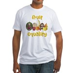 Fruit Equality Fitted T-Shirt