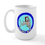 USS Daly (DD 519) Large Mug