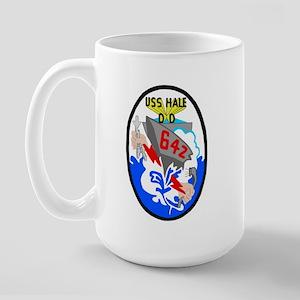 USS Hale (DD 642) Large Mug