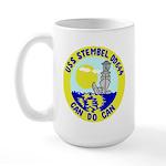 USS Stembel (DD 644) Large Mug