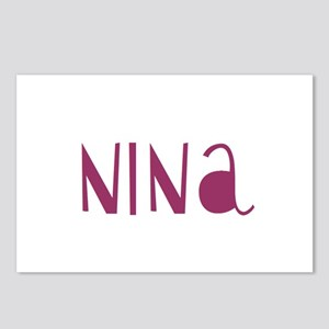 Nina Postcards (Package of 8)