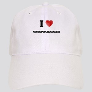 I love Neuropsychologists (Heart made from wor Cap