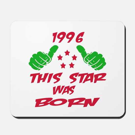 1996 This star was born Mousepad