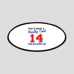 Really Cool 14 Birthday Designs Patch