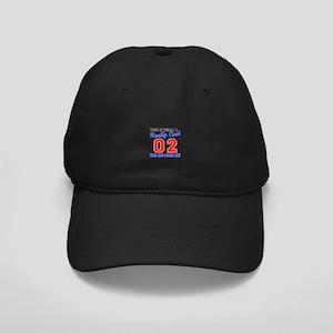 Really Cool 02 Birthday Designs Black Cap