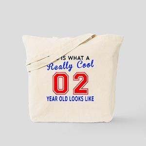 Really Cool 02 Birthday Designs Tote Bag