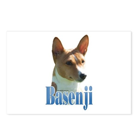 BasenjiName Postcards (Package of 8)
