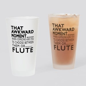 Flute Awkward Moment Designs Drinking Glass