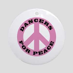 Dancers For Peace Ornament (Round)