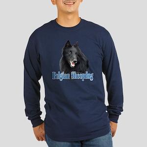 BelgianSheepName Long Sleeve Dark T-Shirt